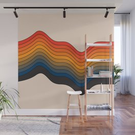 Highs and Lows Wall Mural