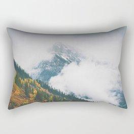 Glacier Fog Rectangular Pillow