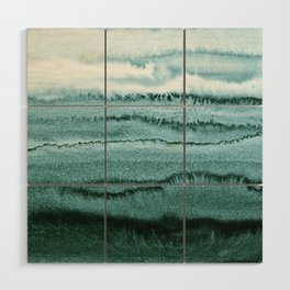 WITHIN THE TIDES - OCEAN TEAL Wood Wall Art