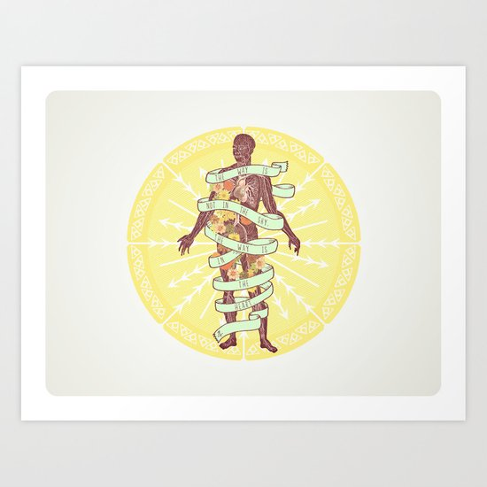 Polarities. Art Print