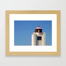 Port Hueneme Light Tower Framed Art Print