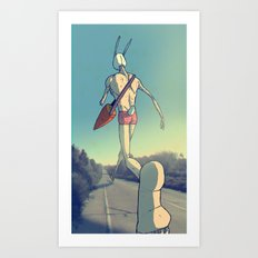 The Giant Conejo Art Print