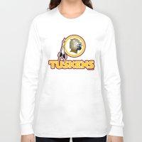 washington Long Sleeve T-shirts featuring Washington Tuskens by Ant Atomic