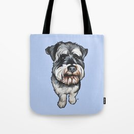 Barney the Miniature Schnauzer Tote Bag