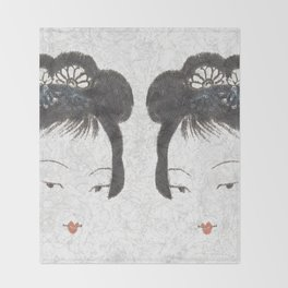 Painted Lady Throw Blanket