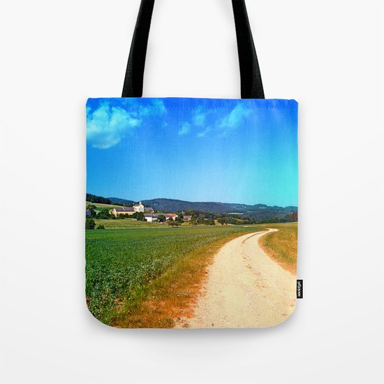 Another lonely hiking trail Tote Bag