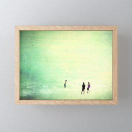 Big Sea Framed Mini Art Print