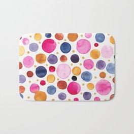 Color Bubbles Bath Mat