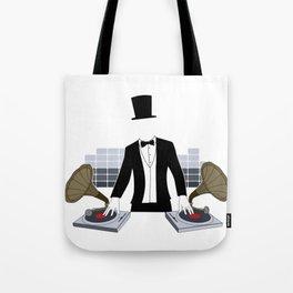 DJ Gramophone Tote Bag