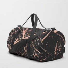 Copper Splatter 091 Duffle Bag