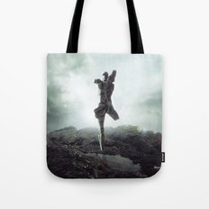To never, to no more. Tote Bag
