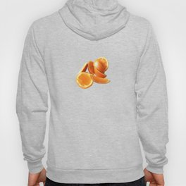Orange Quarters Hoody