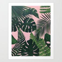 Tropical Peach Art Print