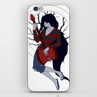 marceline iPhone & iPod Skins featuring Marceline by Crista Gerzevske