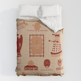 Doctor Who | Aliens & Villains Comforters