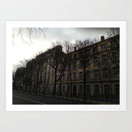 Les gobelins (Paris) Art Print