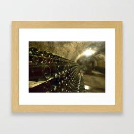 Wine Cellar Framed Art Print