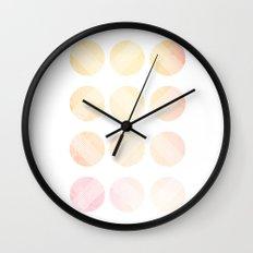 Line Round 2 Wall Clock