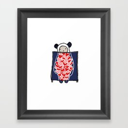 Heart Scan Framed Art Print