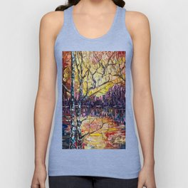 A Beautiful Sunset That Was Mistaken For A Dawn Unisex Tank Top