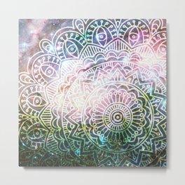 Space mandala 30 Metal Print