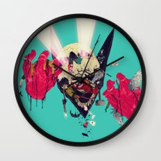 Hero Eater Wall Clock