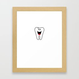 Kid Wanna See Me Wiggle Loose Tooth Gift Framed Art Print