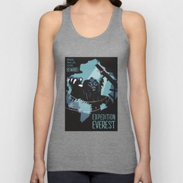 Expedition Everest Attraction Poster Unisex Tank Top