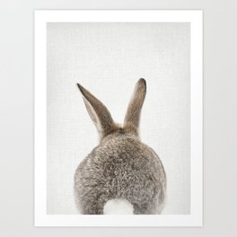 Bunny Tail Art Print