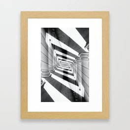 E.V. Framed Art Print