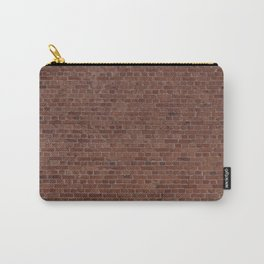 Brooklyn NYC Loft Apartment Brown Stone Brick Wall Carry-All Pouch