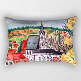 Cesky Krumlov Rectangular Pillow