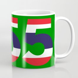 555  Thai flag Coffee Mug