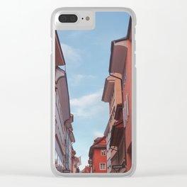 Zurich Alley III Clear iPhone Case
