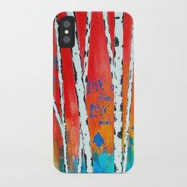 Birch iPhone Case