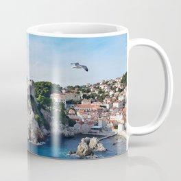 Taking Flight over Dubrovnik Coffee Mug