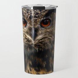 The old eagle owl Travel Mug