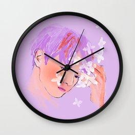 Lilac : :Innocence Wall Clock