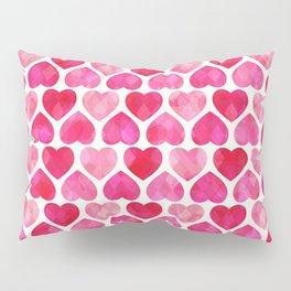 RUBY HEARTS Pillow Sham