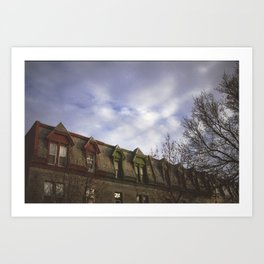 clouds would make the best pillows Art Print