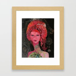 Red Tara Framed Art Print