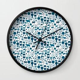 Country Fair Wall Clock