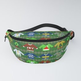 The Ugly 'Ugly Christmas Sweaters' Sweater Design Fanny Pack