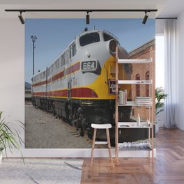 Lackawanna Railroad - Engine 664 Wall Mural