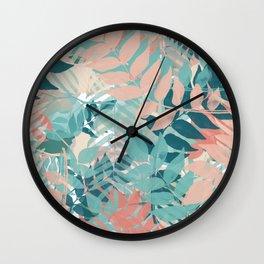 Botanical on Parade Wall Clock