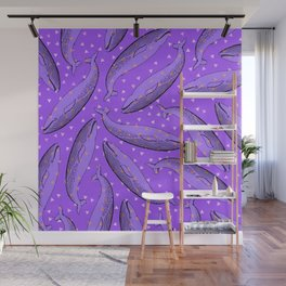 lusty whales Wall Mural
