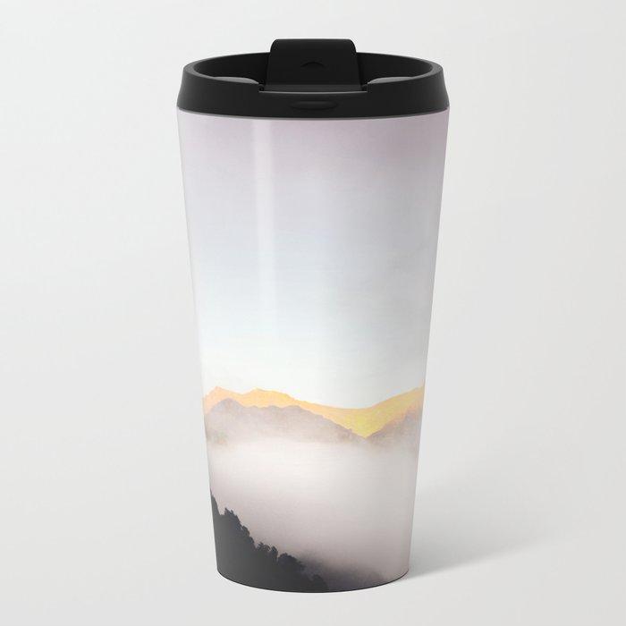 Pastel Mountains #photography Metal Travel Mug