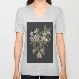 M. de Gijselaar - Branch of blooming azalea (1831) Unisex V-Neck