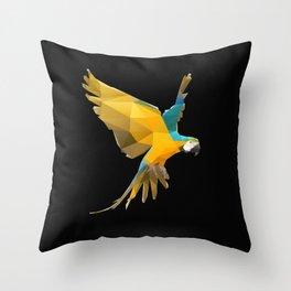 Macaw. Throw Pillow