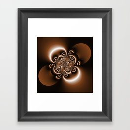 3D - abstraction -50a- Framed Art Print